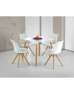 Стол SOCRATES KWADRAT + стул K201 (4 шт.)