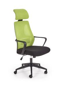 Кресло Valdez (verde/negru)