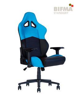 Кресло HEXTER RC R4D Tilt MB70 ECO/01 черный-синий