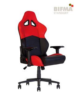 Кресло HEXTER RC R4D Tilt MB70 ECO/01 черный-красный