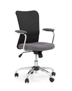 Кресло ANDY (чёрный/серый)