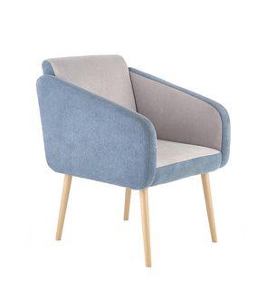 Кресло WELL (серый/бирюзовый)