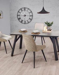 Set Masa HALIFAX (beton) cu 4 scaune K243 (beton/gri)
