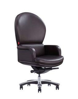 Кресло F121 Italy R28 (натуральная кожа/коричневый)