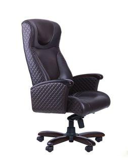 Кресло Galant  Elite MB, орех, кожа Lux черная