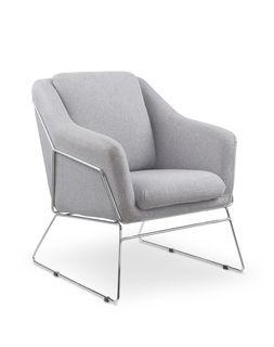 Кресло SOFT (серый)