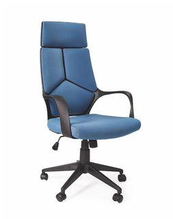Кресло VOYAGER (черный/синий)
