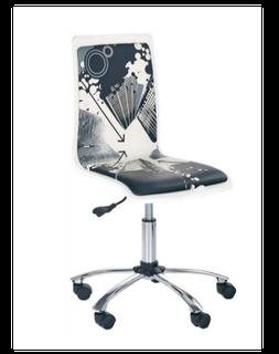 Кресло FUN 9 (белый/черный)