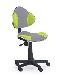 Кресло FLASH 2 (серый/зеленый)