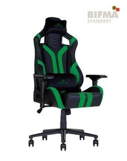 Кресло HEXTER PRO R4D Tilt MB70 ECO/03 черный-зеленый