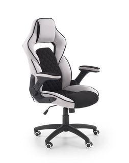Кресло SONIC (чёрный/серый)