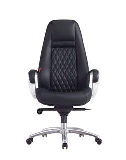 Кресло F185 (экокожа/черный)