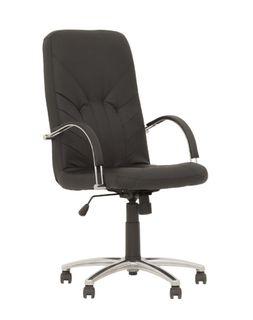 Кресло Manager Steel chrome ECO-30