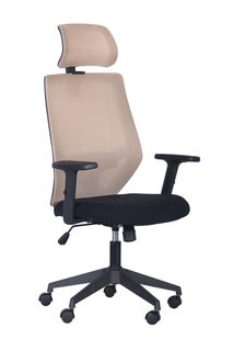 Кресло Lead HR (черный/nest 1/беж)