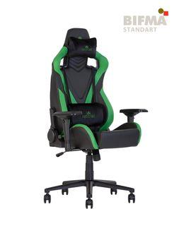 Кресло HEXTER PRO R4D Tilt MB70 ECO/02 черный-зеленый