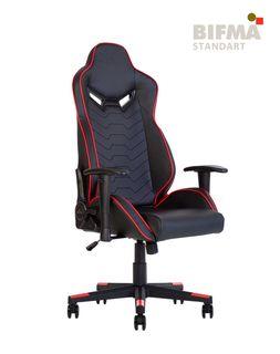 Кресло HEXTER MX R1D Tilt PL70 ECO/02 (черный/красный)
