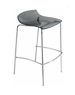 Барный стул X-Treme-BSS (серый прозрачный)