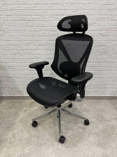 Munch HB - scaun oficiu, negru