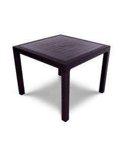 MELODY QUARTET стол темно-коричневый