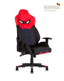 Кресло HEXTER MX R1D Tilt PL70 ECO/01 (черный/красный)
