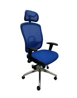 Кресло ErgoStyle-800S HB (синий)