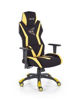 Кресло STIG (черный / желтый)