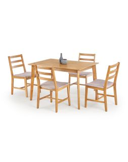 Стол CORDOBA + 4 стула (комплект)