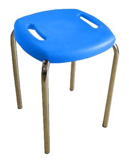 Стул BOOM chrome K21 синий