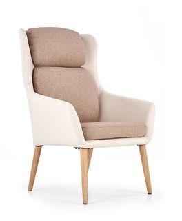 Кресло PURIO (беж/коричневый)