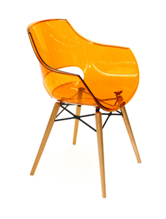 Кресло Opal wox (оранжевый)