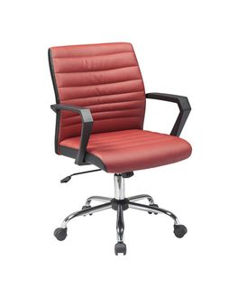 Smart Plus OC - Стул офисный, красный