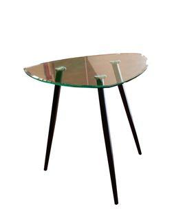 Стол стекло, опоры металлические 800x740 mm XH-Z-217