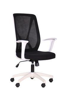 Кресло Nickel (белый/sidney 7/черный)
