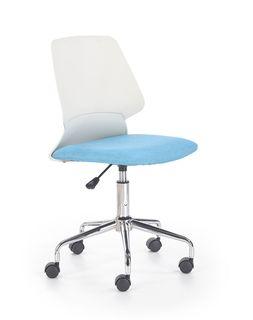 Кресло SKATE (белый/синий)