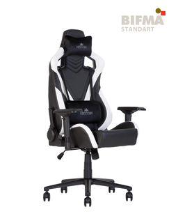 Кресло HEXTER PRO R4D Tilt MB70 ECO/02 черный-белый