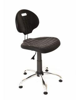 Кресло Laborant GTS хром stopki
