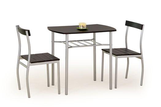 cumpără Set Lance (masa+2 scaune, negru) în Chișinău