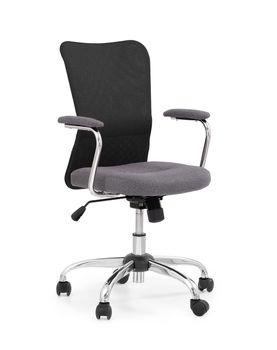 купить Кресло ANDY (чёрный/серый) в Кишинёве
