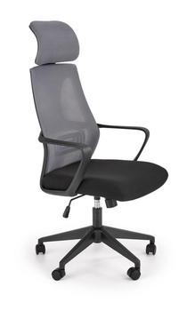 купить Кресло Valdez (серый/черный) в Кишинёве