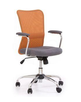 купить Кресло ANDY (серый/оранжевый) в Кишинёве