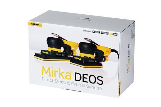 купить Электрическая шлифовальная машинка MIRKA DEOS 383CV 70х198мм орбита 3мм в Кишинёве