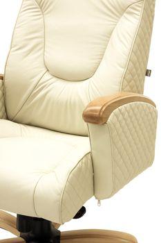купить Кресло Galant Elit MB, buc, кожа Lux ваниль в Кишинёве