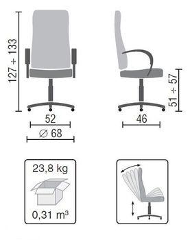 купить Кресло Nika Steel LE-A в Кишинёве