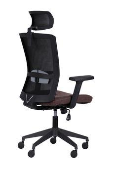 купить Кресло Uran HR (черный/sidney 26/черный) в Кишинёве