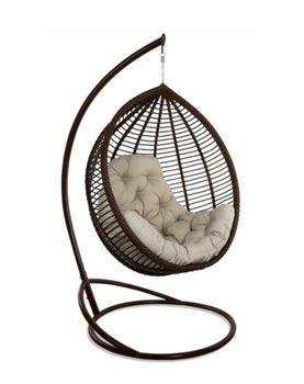купить Кресло-кокон KIT коричневый в Кишинёве