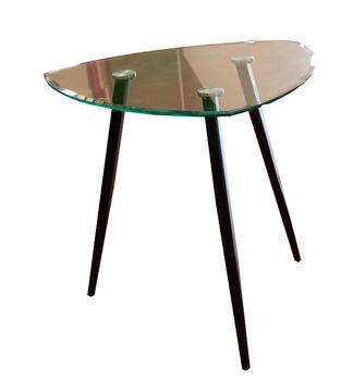 купить Стол стекло, опоры металлические 800x740 mm XH-Z-217 в Кишинёве