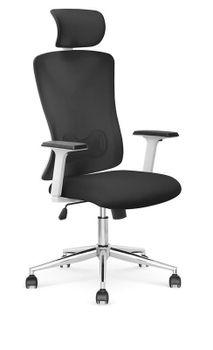 купить Кресло Enrico (черный/белый) в Кишинёве