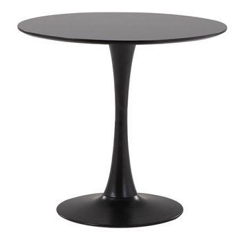 купить Стол на металлической опоре 900x740 mm, черный XH-Z-232 90DIAB в Кишинёве