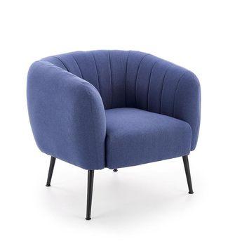 купить Кресло LUSSO (синий) в Кишинёве