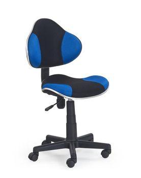 купить Кресло FLASH  (чёрный/синий) в Кишинёве